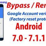 Universal Samsung FRP Bypass (Guide line 2018)