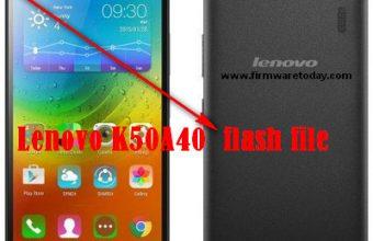Lenovo K50A40 flash file firmware 100% work download