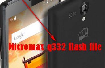 Micromax q332 flash file All version MT6580 100%ok firmware