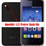 Qmobile x32 Power flash file stock firmware Rom