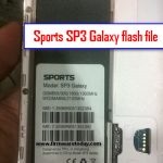 Sports SP3 Galaxy flash file Free 5.1 firmware