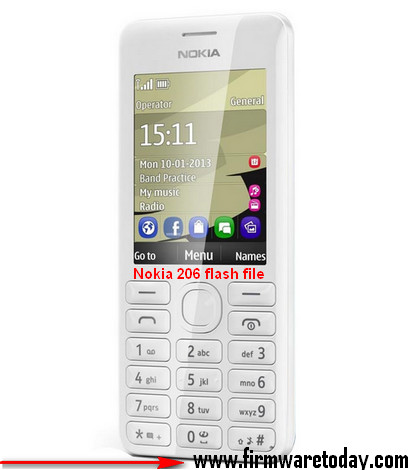 Nokia 206 flash file