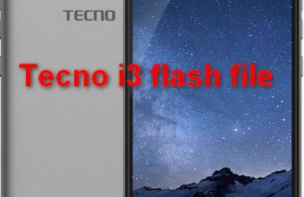 Tecno i3 flash file download firmware stock rom