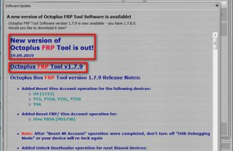 How to Update Octoplus FRP Tool V1.8.4.Setup & Crack Download