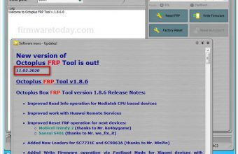 How to Update Octoplus FRP Tool V1.8.6.0 Setup & Crack Download