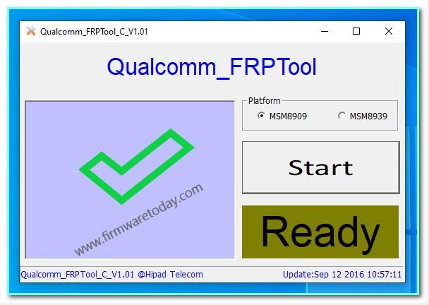 Qualcomm FRP Reset Tool
